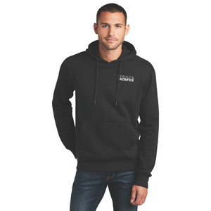 LOVE LIVES ON Perfect Weight Fleece Pullover Hoodie