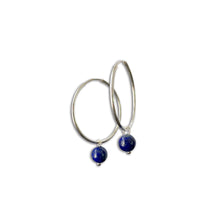 Load image into Gallery viewer, Hoop Earrings in Silver