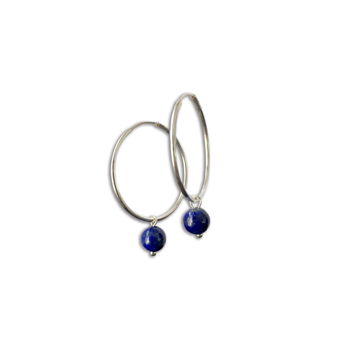 Hoop Earrings in Silver