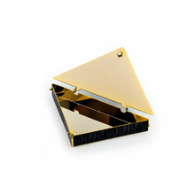 Load image into Gallery viewer, Folded Flag Keepsake Box 24k Gold