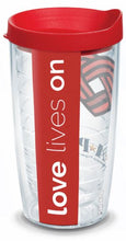 Load image into Gallery viewer, Love Lives On Tervis Tumbler 16oz BPA Free