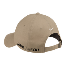 Load image into Gallery viewer, LOVE LIVES ON Nike Twill Cap