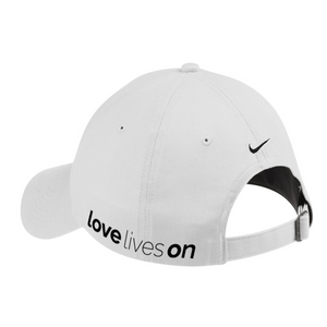 LOVE LIVES ON Nike Twill Cap