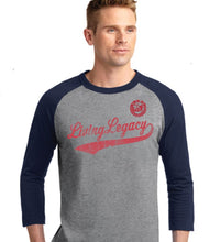 Load image into Gallery viewer, Living Legacy Baseball Tee