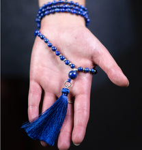 Load image into Gallery viewer, Lapis Mala Beads