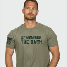 Load image into Gallery viewer, Nine Line Remember the Dash Unisex Tee
