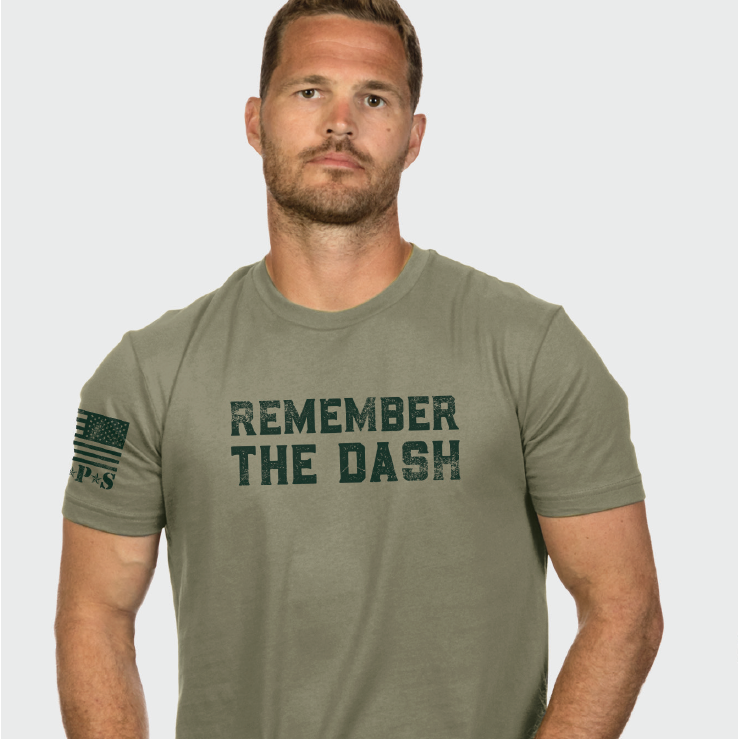 Nine Line Remember the Dash Unisex Tee