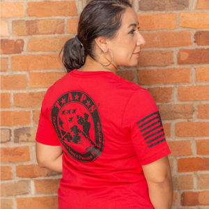 Grunt Style Red TAPS Logo Tee