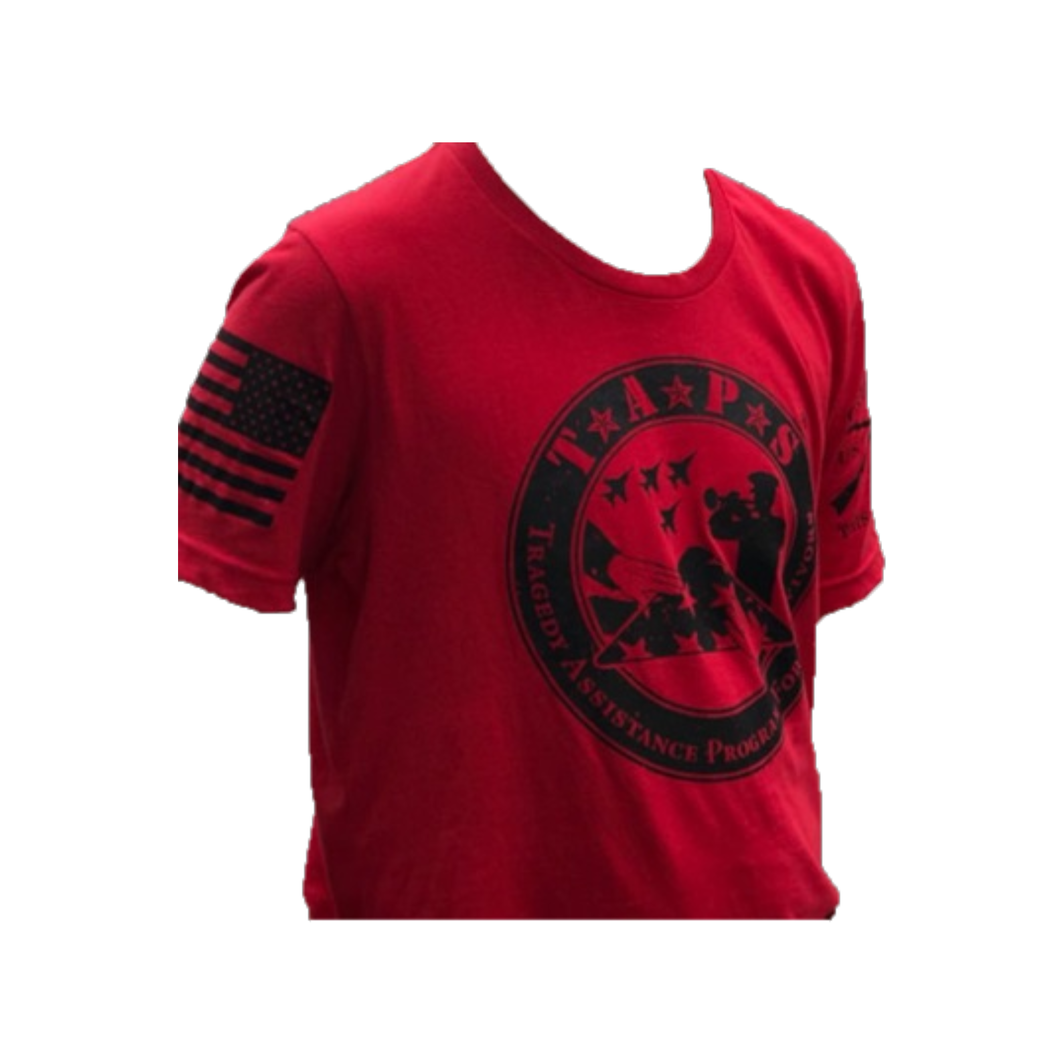 Grunt Style Red TAPS Logo Youth Tee