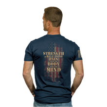 Load image into Gallery viewer, Nine Line Strength Unisex Tee