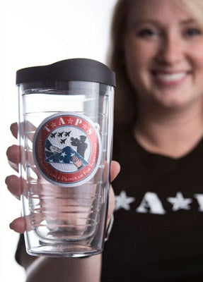 Tervis Tumbler 16oz BPA Free Clear Cup with TAPS Logo