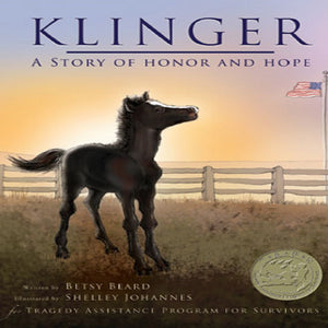 Klinger Book and Companion Plush Horse Gift Set