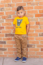 Load image into Gallery viewer, Klinger Toddler Tee Yellow