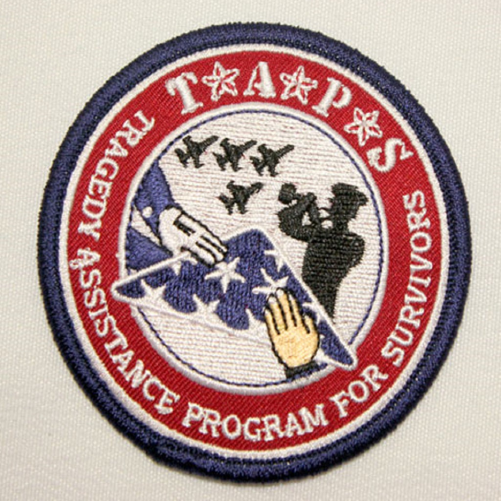 Embroidered TAPS Velcro Patch