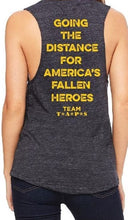 Load image into Gallery viewer, Women's Stay the Course Tank Top Grey/Yellow