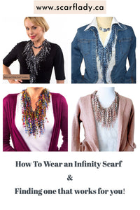 How To Wear an Infinity Scarf - And finding one that works for you!