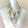 Summer Scarf Necklace - Spring GemLace Scarf