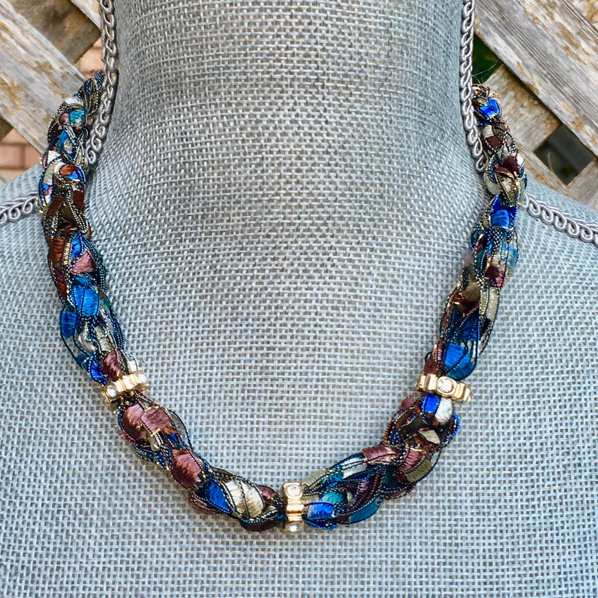 boho statement necklace choker