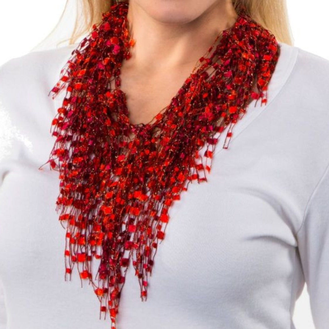 Scarf Necklace by ScarfLady