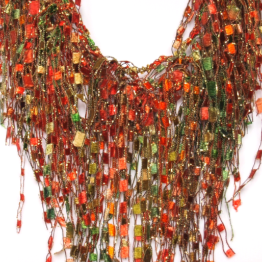 bohemian scarf necklace