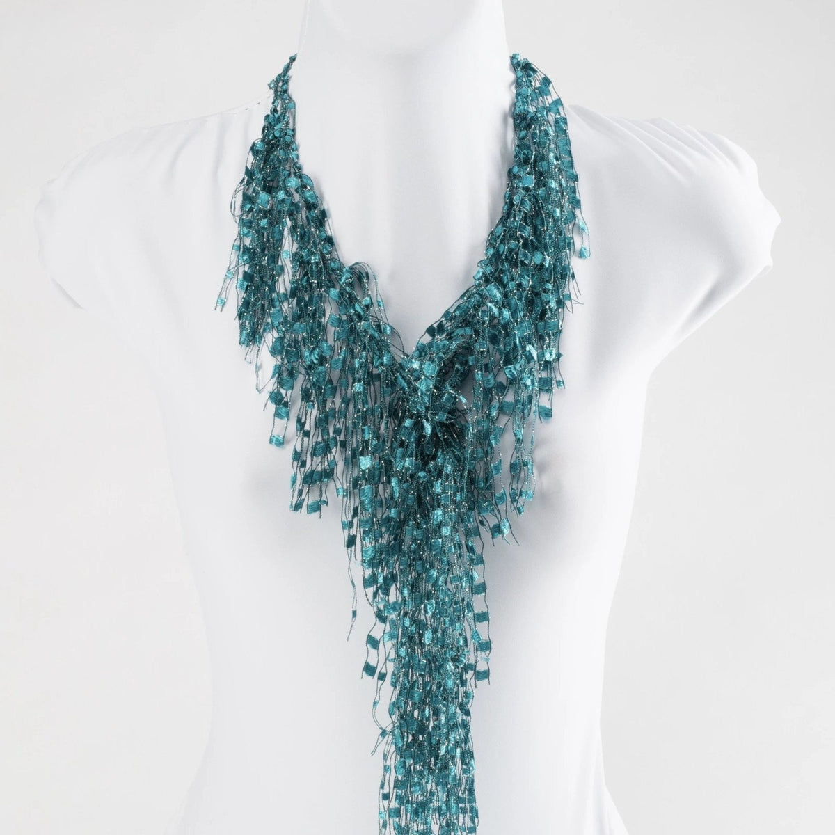 Turquoise GemLace by Scarf Lady