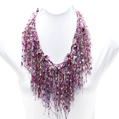 Pink Ruby GemLace Scarf