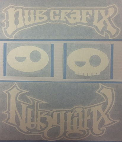 Nub and Chuck Decals