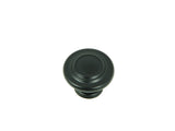 CP1398-MB   Matte Black Three Ring Cabinet Knob