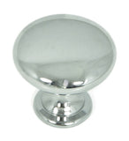CP2175-PC   Polished Chrome Round Cabinet Knob