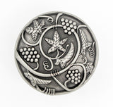 CP3079-WEN Weathered Nickel Vineyard Harvest Cabinet Knob