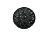 CP81521-BA   Antique Black Mayflower Cabinet Knob