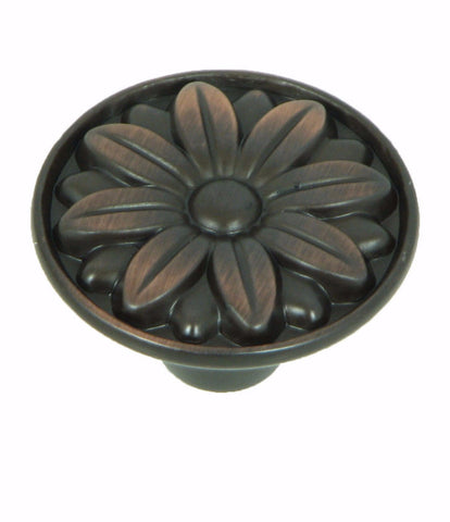 CP81521-OB   Oil Rubbed Bronze Mayflower Cabinet Knob