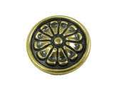 CP82404-ABR   Antique Brass Aztek Cabinet Knob