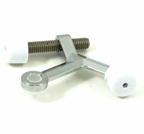 HW02H-CH  Hinge Pin Door Stop - Chrome