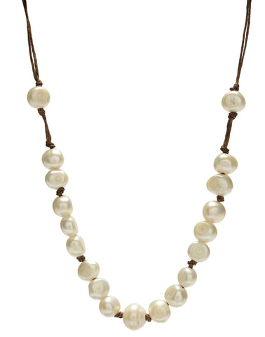 Lotta Chunky Necklace - white
