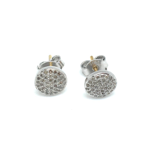 Diamond studs- large