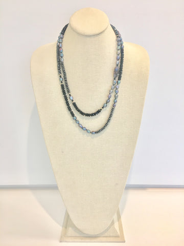 Ulrika necklace - black onyx