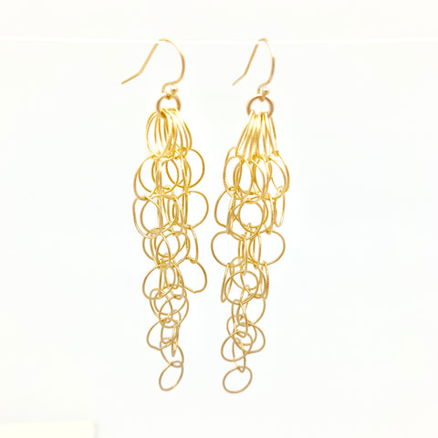 Estelle earrings - gold fill