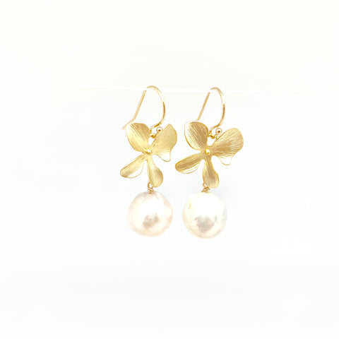 Disa earrings - short/gold