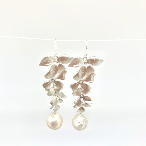 Disa earring - long/silver