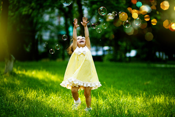 4 Ideas for Bubble Play