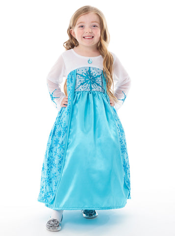 Satin Ice Princess Costume