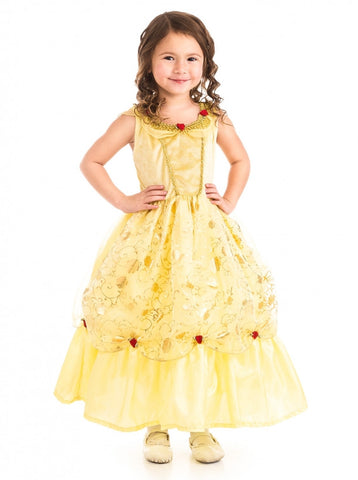 Yellow Beauty Princess Costume