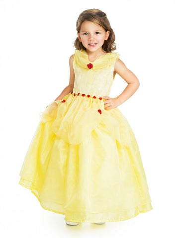 Deluxe Yellow Beauty Costume