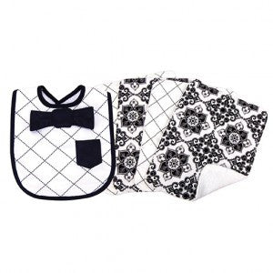 Dress Up Bib & Burp Cloth Set
