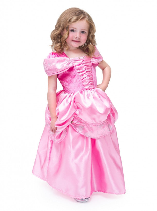 Satin Pink Beauty Costume