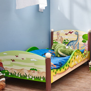Dinosaur Kingdom Toddler Bed