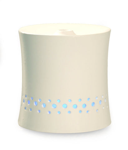Ceramic Ultrasonic Aroma Diffuser and Humidifier - Black or White
