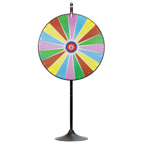 Dry Erase Color Prize Wheel with Extension Base