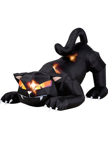 Inflatable Animated Halloween Cat